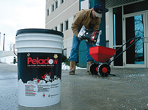 Peladow™ Calcium Chloride Pellets are the premier choice for melting snow and ice.