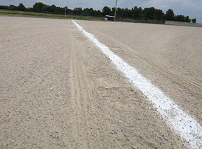 Our industrial specialty products are used for football, soccer, baseball and other sporting event fields for marking the white chalk lines.